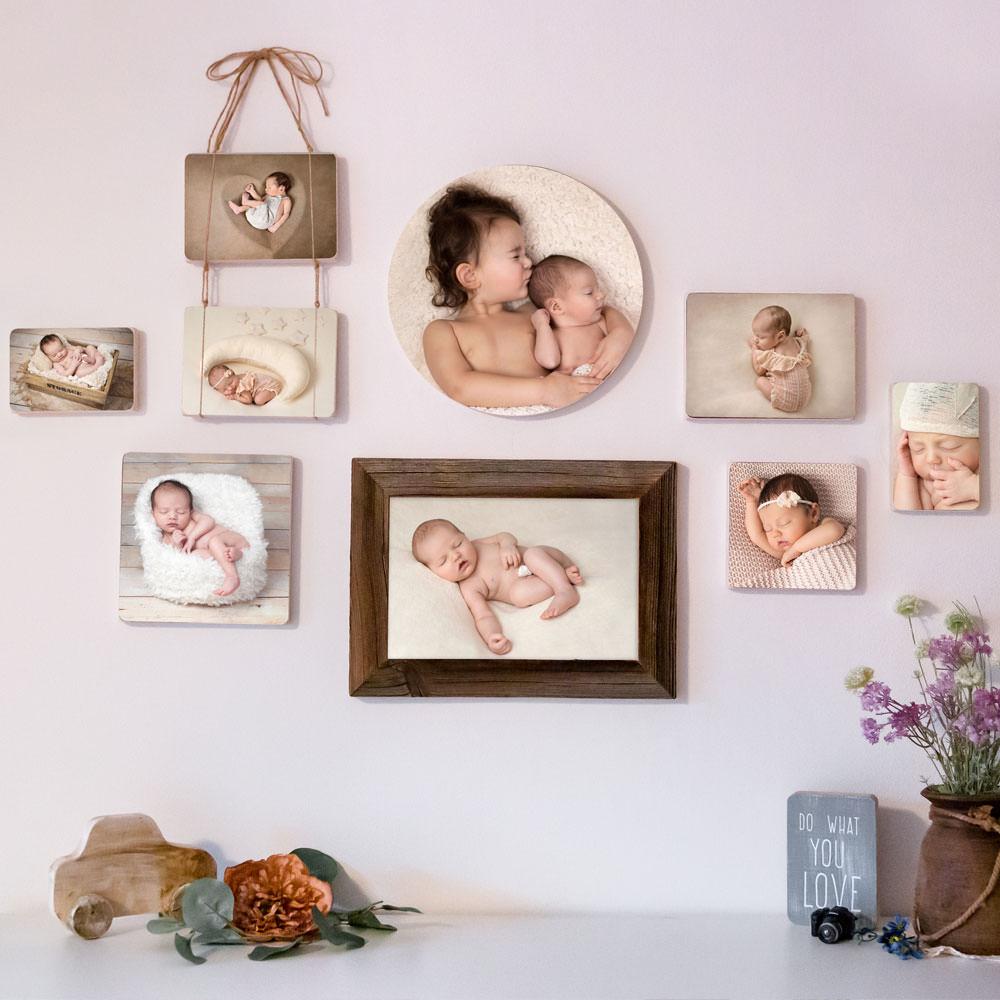 fotowand-mit-babybilder